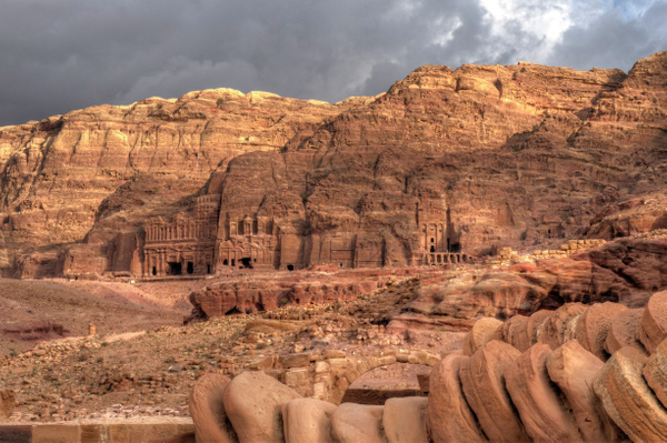 Carved City (Petra) by Aurelia