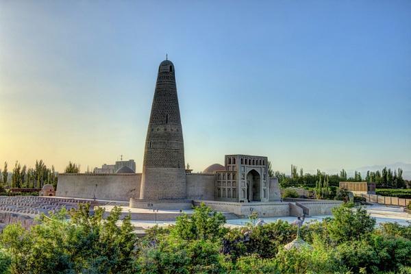 Emin Minaret and Mosque (Turpan) by Aurelia