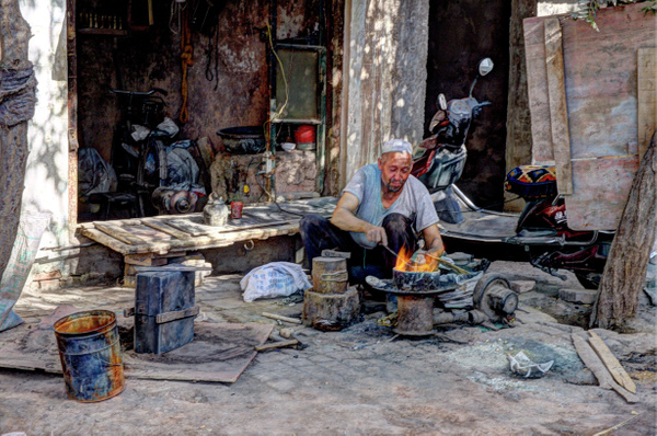 Home Cookin (Kashgar) by Aurelia