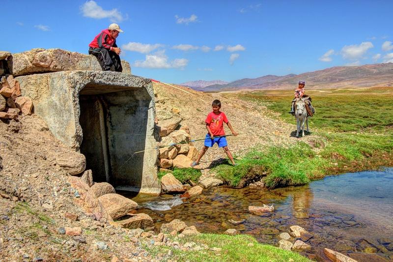 Nomad Fishin (Son Kul Lake)