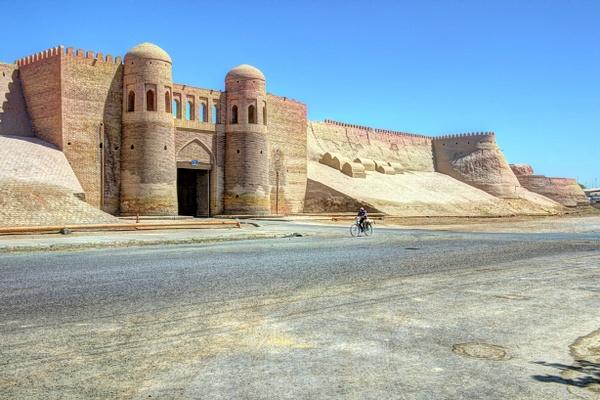 Riding outside of Khiva by Aurelia
