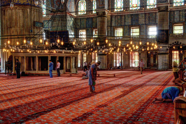 The Blue Mosque (Istanbul) by Aurelia