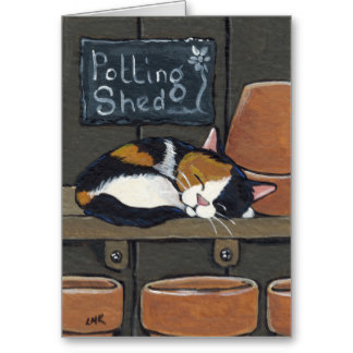 calico_cat_in_the_potting_shed_greeting_card-rca0aa8cd40b140958bc7b22fe7067bcb_xvuat_8byvr_324 by pikachukiser