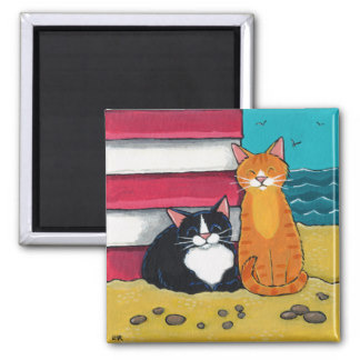 happy_tuxedo_and_tabby_cat_on_the_beach_magnet-r8131a4f29177458282bec3afd610f794_x7j3u_8byvr_324 by pikachukiser