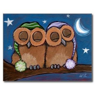 sleepy_owls_postcard-r0ea690422a2048c3a0f99ce6cb78717d_vgbaq_8byvr_324 by pikachukiser