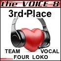 The Voice 8 3rd Place gmcd by pikachukiser