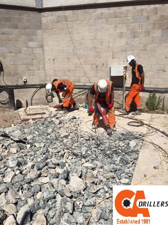 Concrete Drilling by CA Drillers