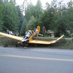 Single enginePlane Crash