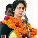 Priyanka Gandhi addresses