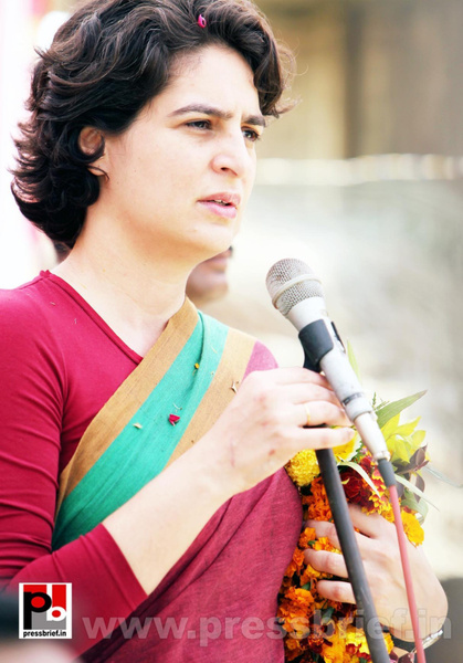 Latest Photos of Priyanka Gandhi (23) by Pressbrief In