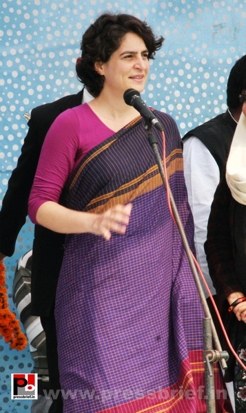 Latest Photos of Priyanka Gandhi (12) by Pressbrief In