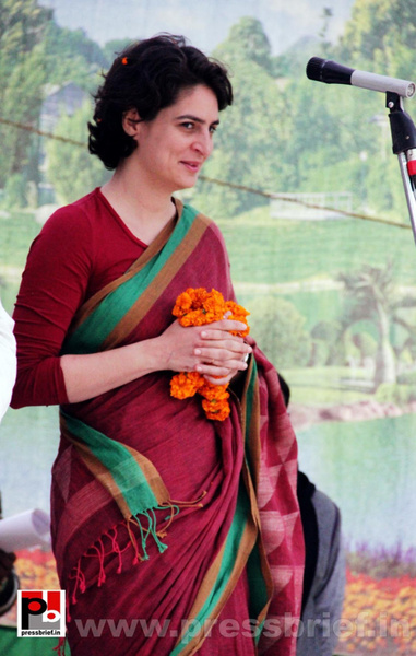 Latest Photos of Priyanka Gandhi (8) by Pressbrief In