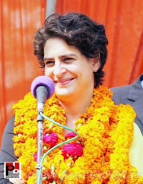 Latest Photos of Priyanka Gandhi (4) by Pressbrief In