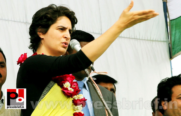 Latest Photos of Priyanka Gandhi (5) by Pressbrief In