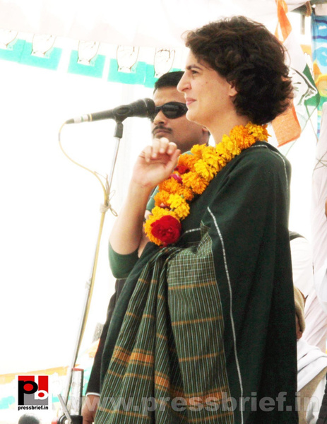 Latest Photos of Priyanka Gandhi (10) by Pressbrief In