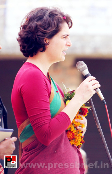 Priyanka Gandhi Photos (23) by Pressbrief In