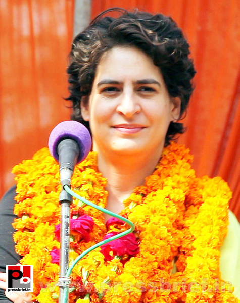 Priyanka Gandhi Photos (4) by Pressbrief In