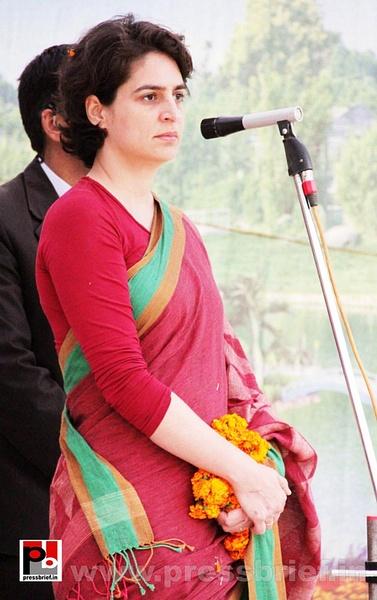 Priyanka Gandhi Photos (6) by Pressbrief In