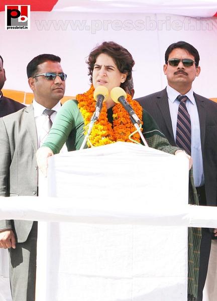 Priyanka Gandhi Photos (12) by Pressbrief In