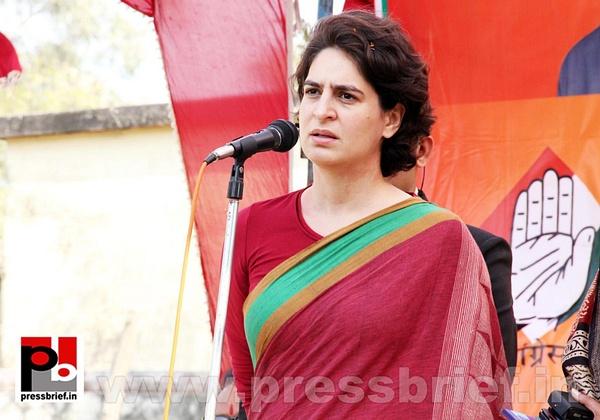 Priyanka Gandhi Photos (8) by Pressbrief In