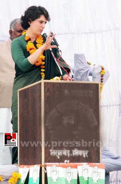 Priyanka Gandhi Photos (10) by Pressbrief In