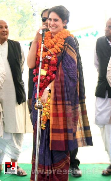 Priyanka Gandhi Photos (17) by Pressbrief In