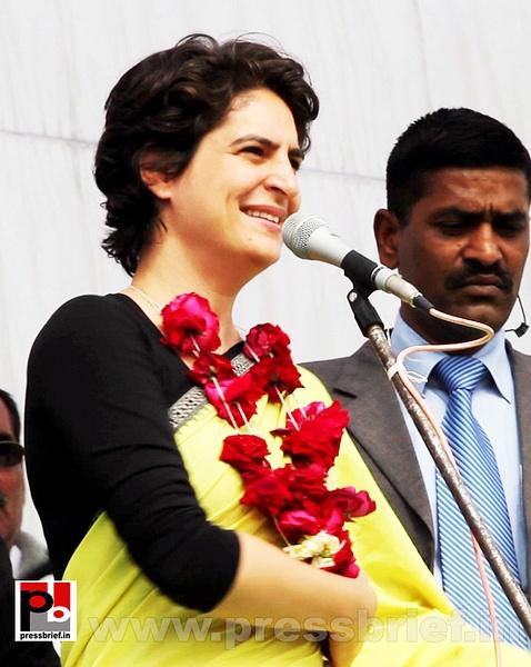Priyanka Gandhi Photos (5) by Pressbrief In