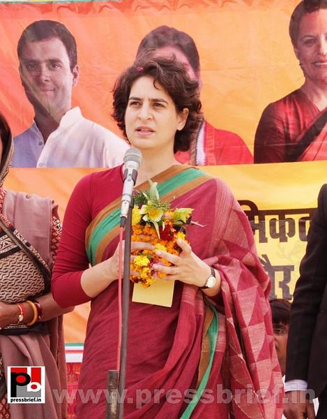 Priyanka Gandhi Photos (9) by Pressbrief In