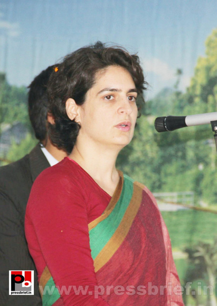 Priyanka Gandhi Photos (7) by Pressbrief In