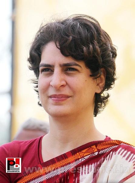 Latest photos of Priyanka Gandhi (10) by Pressbrief In