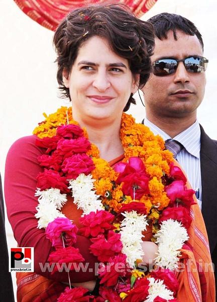 Latest photos of Priyanka Gandhi (31) by Pressbrief In