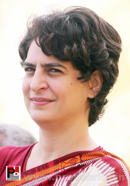 Latest photos of Priyanka Gandhi (13) by Pressbrief In
