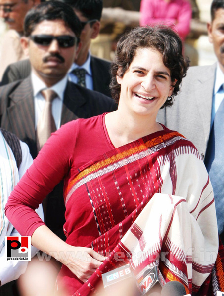 Latest photos of Priyanka Gandhi (4) by Pressbrief In