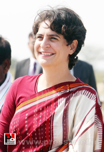 Latest photos of Priyanka Gandhi (17) by Pressbrief In