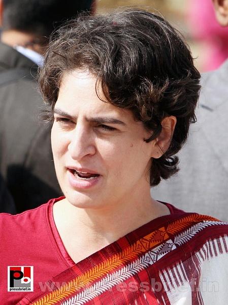 Latest photos of Priyanka Gandhi (16) by Pressbrief In