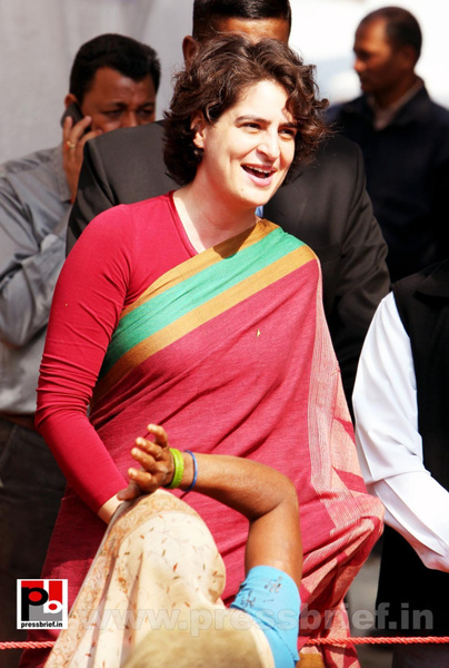 Latest photos of Priyanka Gandhi (21) by Pressbrief In