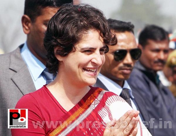Latest photos of Priyanka Gandhi (8) by Pressbrief In