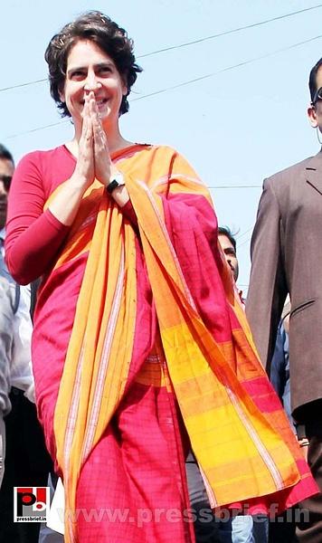 Latest photos of Priyanka Gandhi (3) by Pressbrief In