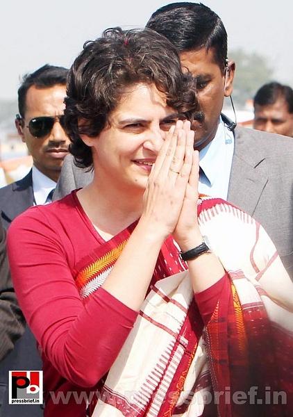 Latest photos of Priyanka Gandhi (6) by Pressbrief In