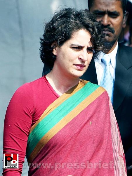 Latest photos of Priyanka Gandhi (25) by Pressbrief In