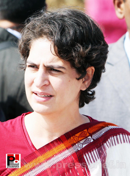 Latest photos of Priyanka Gandhi (15) by Pressbrief In