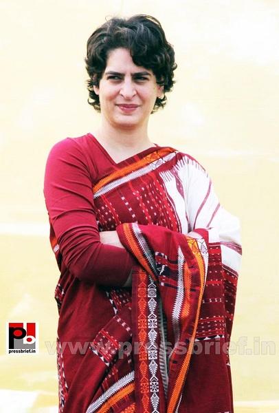 Latest photos of Priyanka Gandhi (14) by Pressbrief In