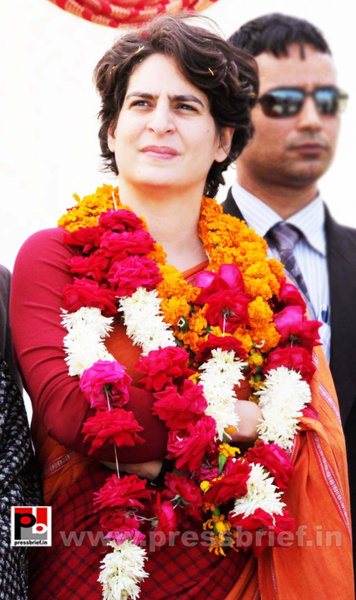 Latest photos of Priyanka Gandhi (29) by Pressbrief In