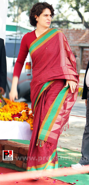 Priyanka Gandhi new photos (1) by Pressbrief In