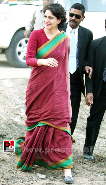 Priyanka Gandhi new photos (29) by Pressbrief In