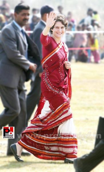 Priyanka Gandhi new photos (10) by Pressbrief In
