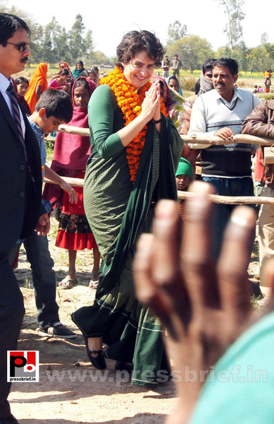 Priyanka Gandhi new photos (4) by Pressbrief In