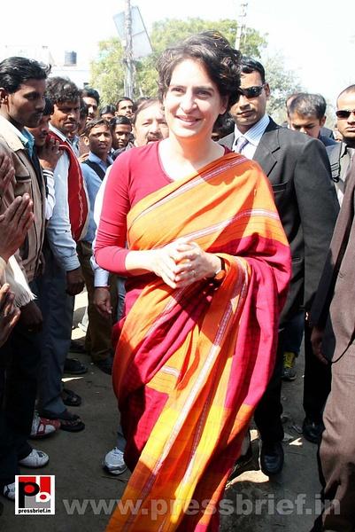 Priyanka Gandhi new photos (5) by Pressbrief In