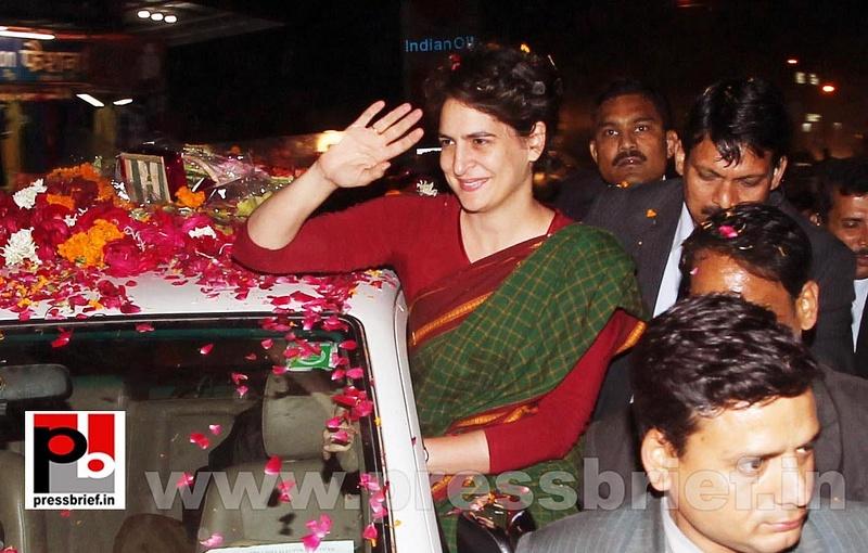 Congress star campaigner Priyanka Gandhi (10)