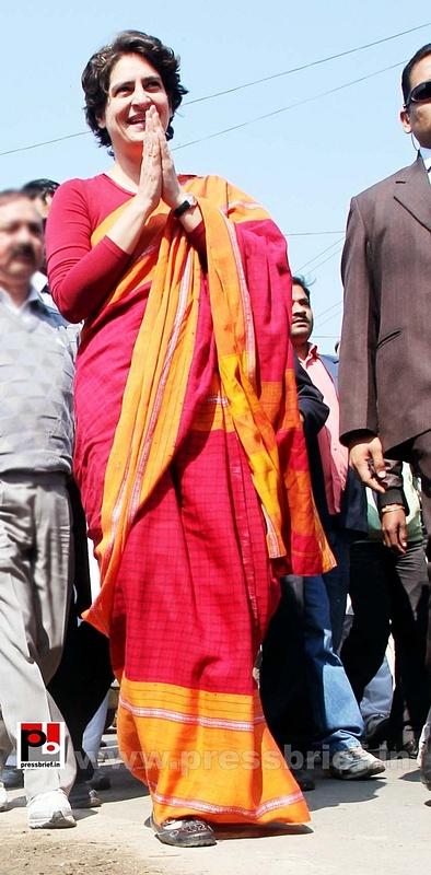 Congress star campaigner Priyanka Gandhi (7)